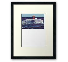 Migaloo's Hitchhiker Framed Print