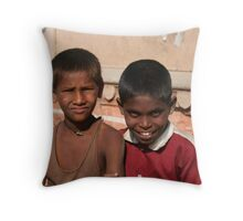 street children Throw Pillow