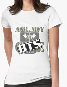 ARMY of BTS Womens Fitted T-Shirt