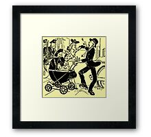 Nursery Crime Framed Print