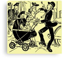 Nursery Crime Canvas Print