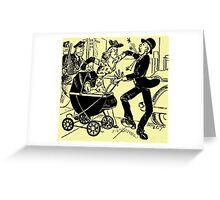Nursery Crime Greeting Card