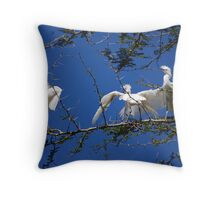 Thorny Dispute Throw Pillow