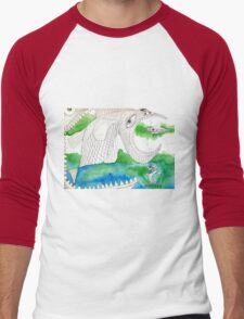 Big Fish Little Fish Men's Baseball ¾ T-Shirt