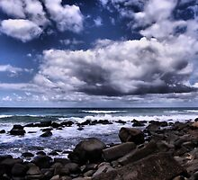 Clouds over the Ocean by Nickie