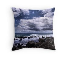 Clouds over the Ocean Throw Pillow
