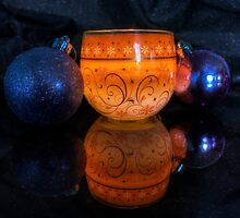 Christmas Baubles  by Ian Mitchell