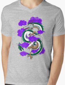Haku-Spirited Away Mens V-Neck T-Shirt