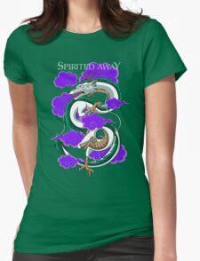 Haku-Spirited Away Womens Fitted T-Shirt