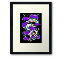 Haku-Spirited Away Framed Print