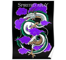 Haku-Spirited Away Poster