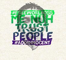 NUH TRUST PEOPLE #FREEWORLBOSS (GREEN-PURP) Pullover