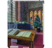 Christmas Service iPad Case/Skin