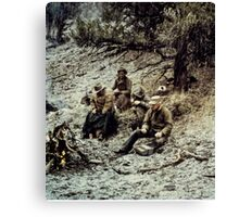 REAL COWBOYS OF TODAY Canvas Print