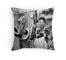 Butchers of the World - Shanghai! Throw Pillow