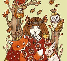 Wild Woods by Anita Inverarity