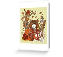 Wild Woods Greeting Card