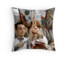 Butchers of the World - Barcelona! Throw Pillow