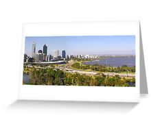 Perth panorama Greeting Card