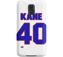 National football player Rick Kane jersey 40 Samsung Galaxy Case/Skin