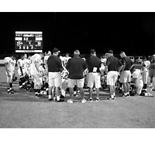 Safety Requires Team Work Photographic Print