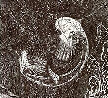 Skull Abstract 1 by Thomas Ponder