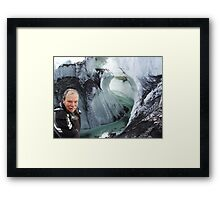 BABY ITS COLD OUTSIDE-BABY ITS BAD OUT HERE-ITS FREEZIN LOL  Framed Print