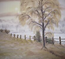 Weeping Willow by Cynthia Kondrick