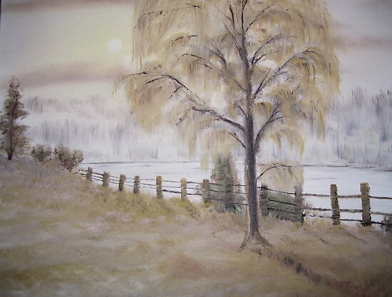 Weeping Willow by Cynthia Kondrick