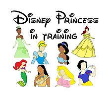 Disney Princess in Training by aimeedraper