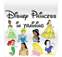 Disney Princess in Training Poster
