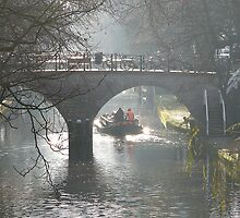 On the Old Canal at Utrecht again by jchanders