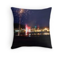 2 Days before New Years,  2007 Throw Pillow