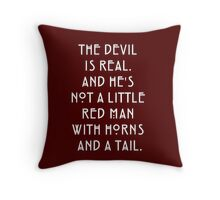 The Devil - AHS Throw Pillow