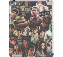 the maze runner iPad Case/Skin