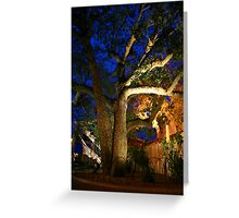 Exotic Tree Greeting Card