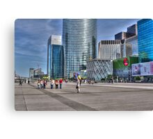 La Defense, Paris, France Canvas Print