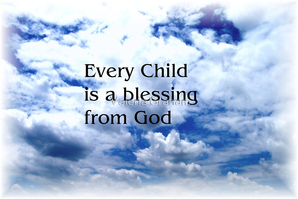 Childs Blessing by Valeria Lee