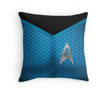 Star Trek Series - Scientist Suit - Spock Throw Pillow