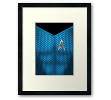 Star Trek Series - Scientist Suit - Spock Framed Print