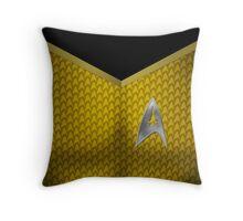 Star Trek Series - Captain Suit - Kirk Throw Pillow