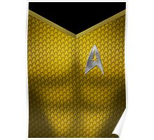 Star Trek Series - Captain Suit - Kirk Poster
