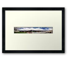 Twilight at Parliament House Framed Print