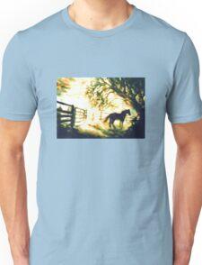 SUNRISE HORSE - Cowboy Country Unisex T-Shirt