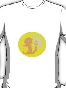 Charmander lights the way T-Shirt