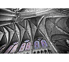 Reims Cathedral Ceiling Photographic Print