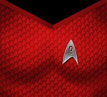 Star Trek Series - Uhura Suit by robozcapoz