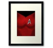 Star Trek Series - Uhura Suit Framed Print
