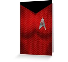 Star Trek Series - Uhura Suit Greeting Card