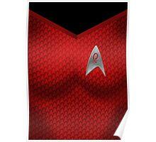 Star Trek Series - Uhura Suit Poster